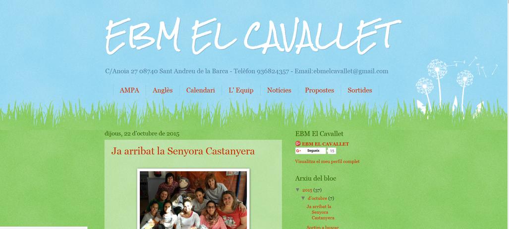 Web EBM El Cavallet