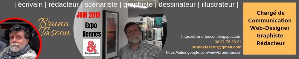 Bruno TASCON - graphiste, rédacteur - communication - dessinateur, scénariste  - VANNES MORBIHAN