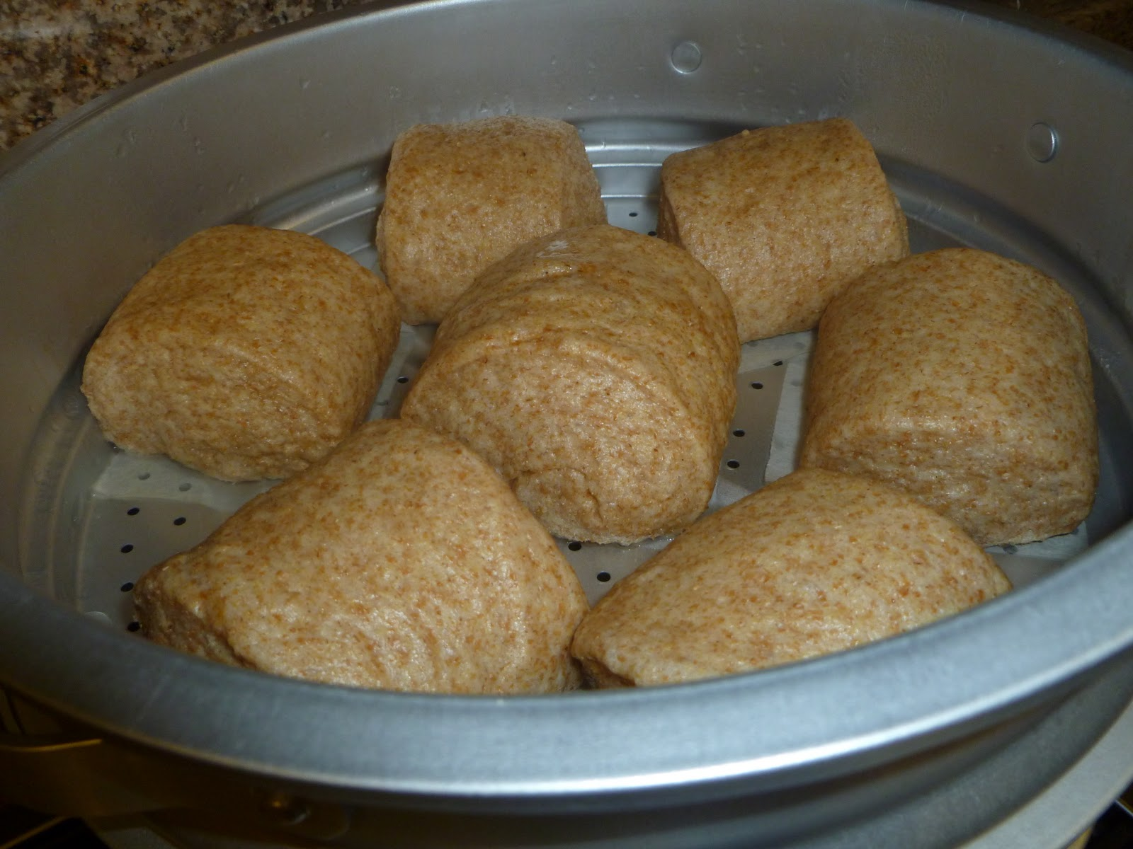 Wheat Mantou 麦馒头