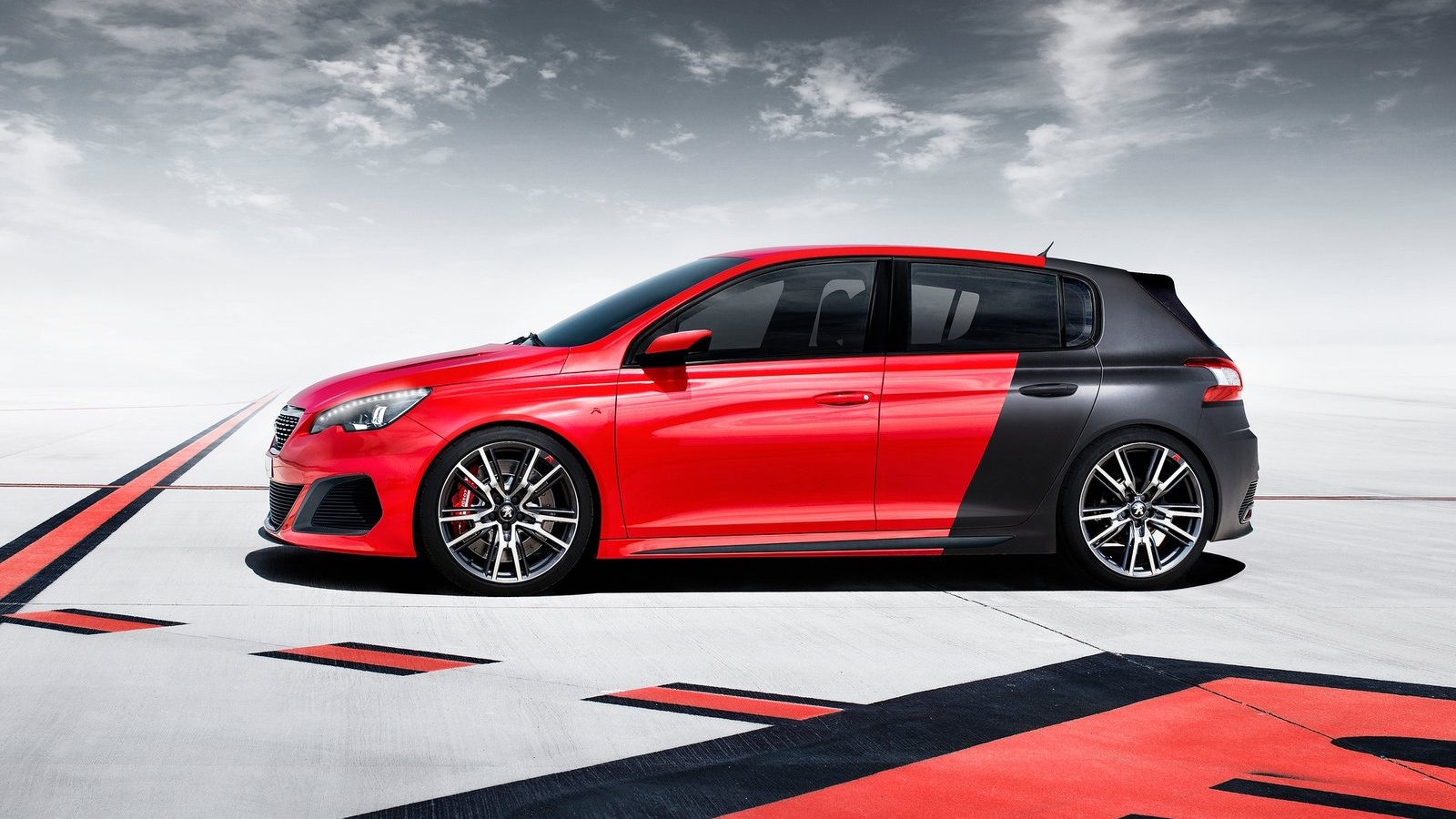 modification race cars 2013 peugeot 308 r concept 19 1 6 thp turbo 270 hp. Black Bedroom Furniture Sets. Home Design Ideas