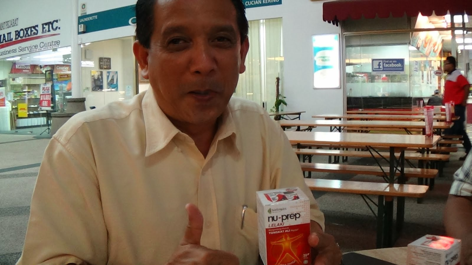 Tongkat Ali Nu-Prep lelaki 'diabetes reducer'