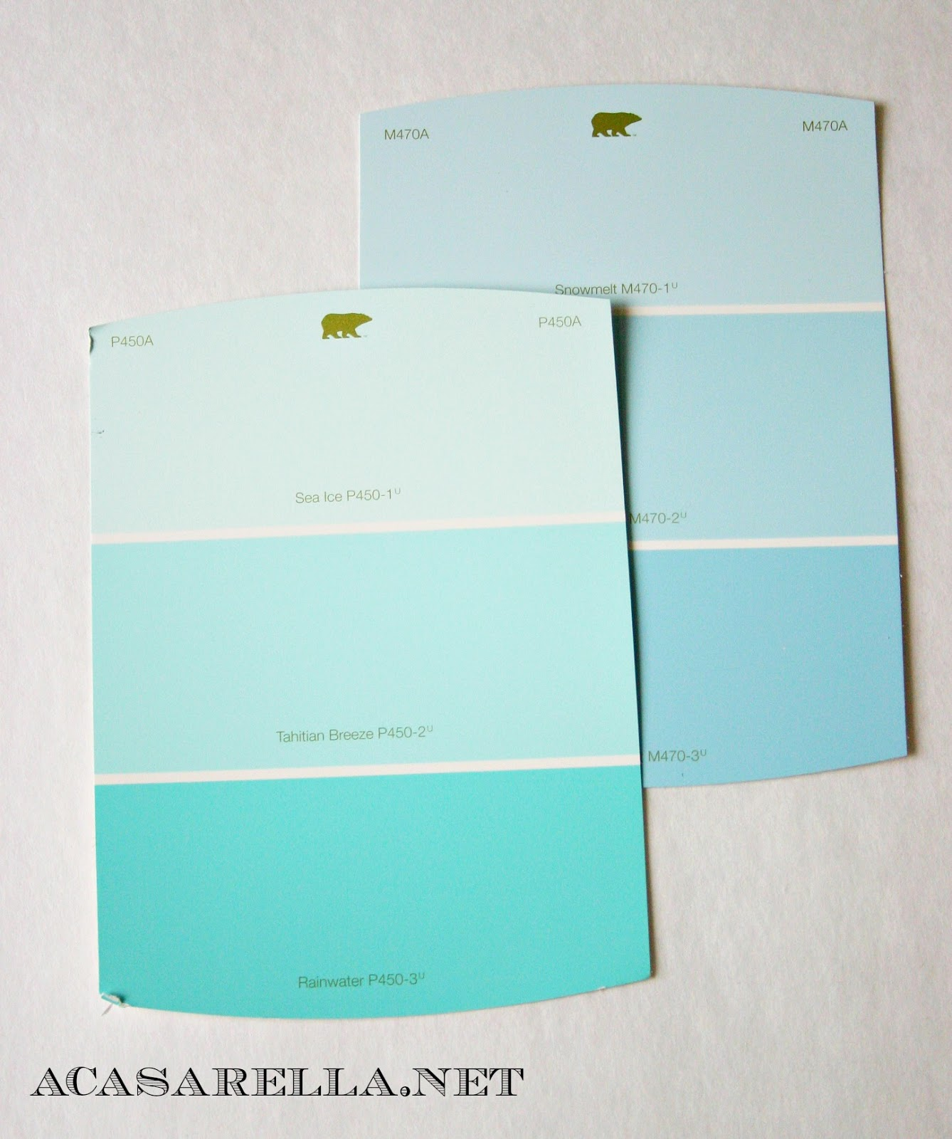 paint chip gift tags | 'a casarella