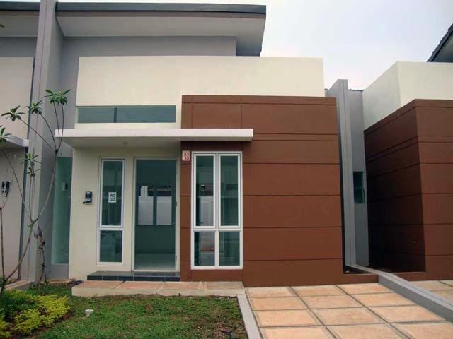 Gambar Rumah Kecil Modern Sederhana Model Terbaru