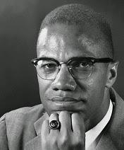 Malcolm X, 1965 by Victor Boynton.