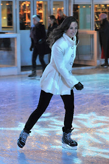Pippa Middleton Skating Candids