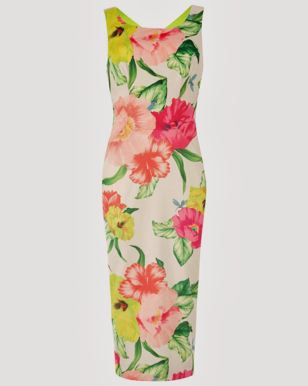 ted baker flower dress