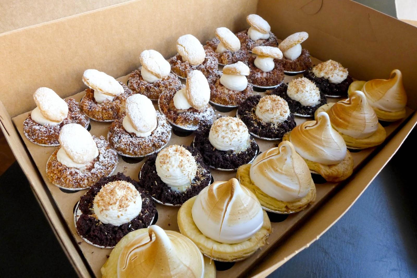 Rustique Pie Kitchen - Tiramisu, Snowball White Chocolate Coconut, Lemon Meringue Pie