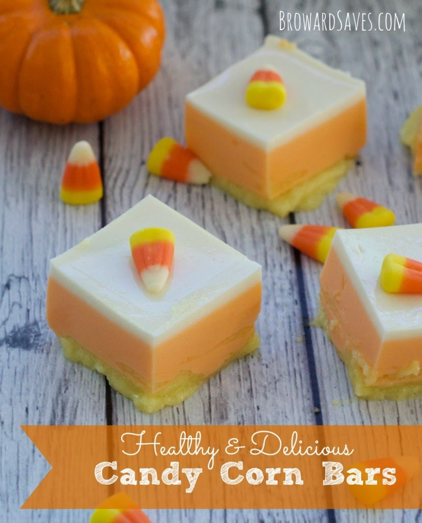 Candy Corn Bars by Broward Saves