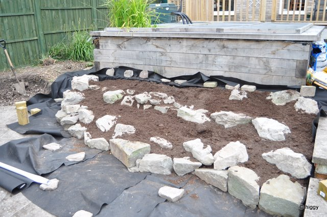 how to build a rockery youtube