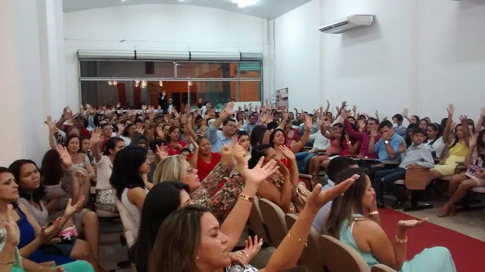 Culto na AD Porto Franco