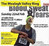10 mile race near Bantry in Cork. Also 5k run