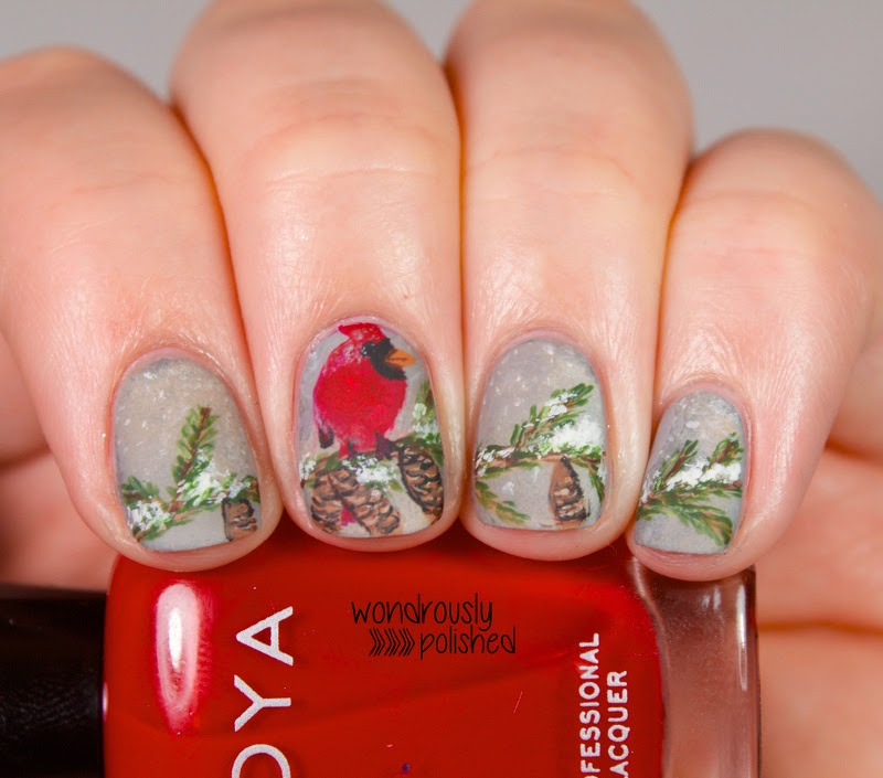 Wondrously Polished: NPC 2nd Annual Holiday Nail Art