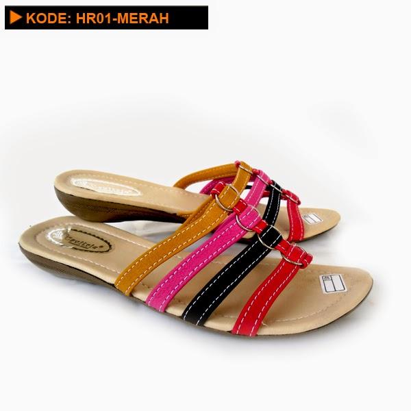 Model sandal carvil wanita cantik online terbaru di jual ...