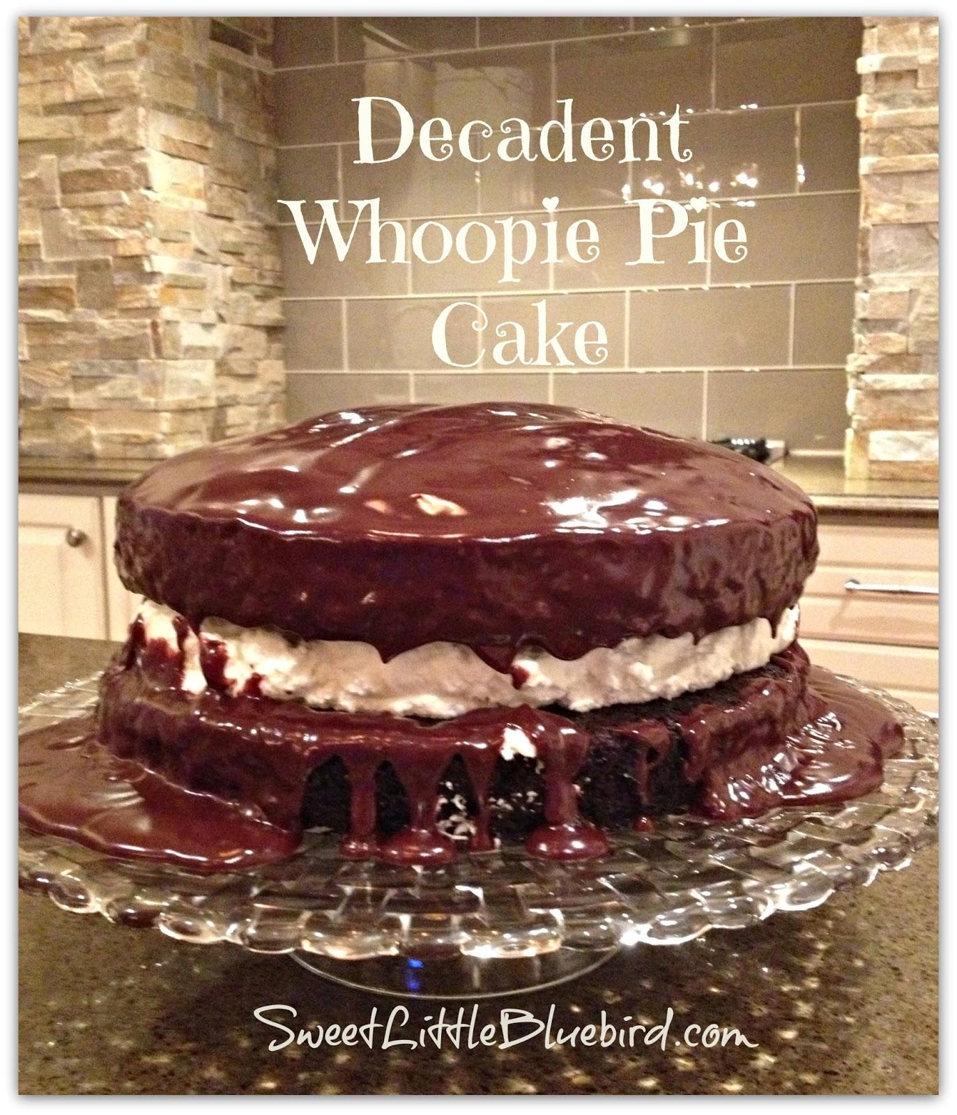 Decadent Whoopie Pie Cake