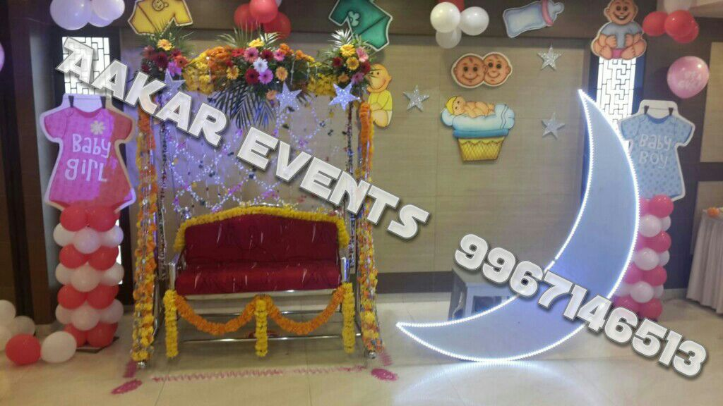 Dohale jevan decoration in mumbai baby shower decoration for Baby shower function decoration