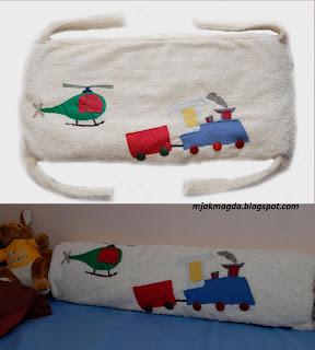 ochraniacz na łóżeczko, zabezpieczenie