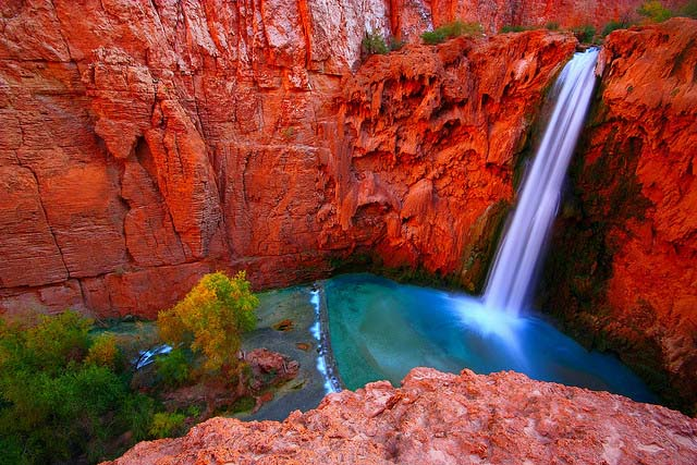 Havasu Falls Supai Arizona Americas Best Swimming Holes