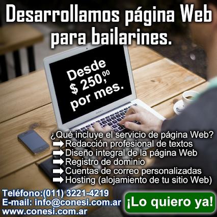 Páginas Web para bailarines