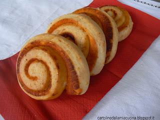 girelle di pan di mozzarella