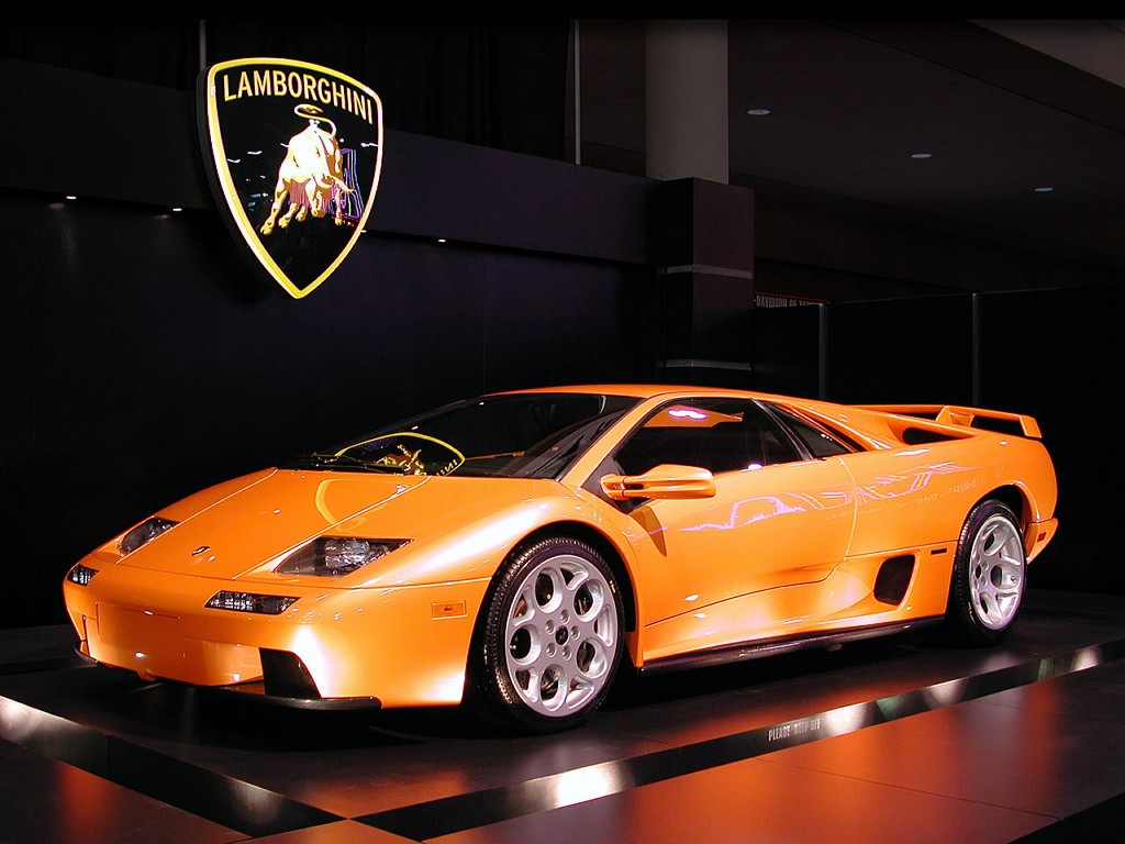 This Lamborghini Diablo comes