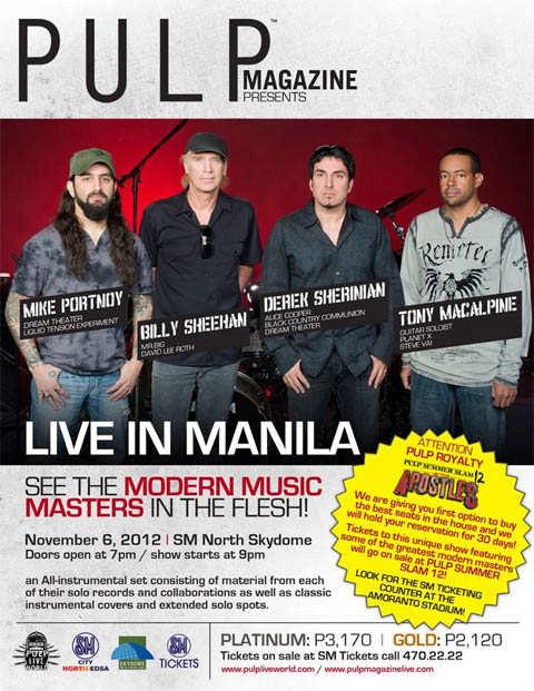portnoy sheehan sherinian macalpine live in manila 2012