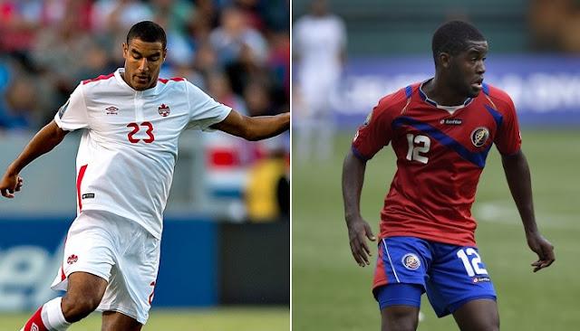 Canada vs Costa Rica en vivo