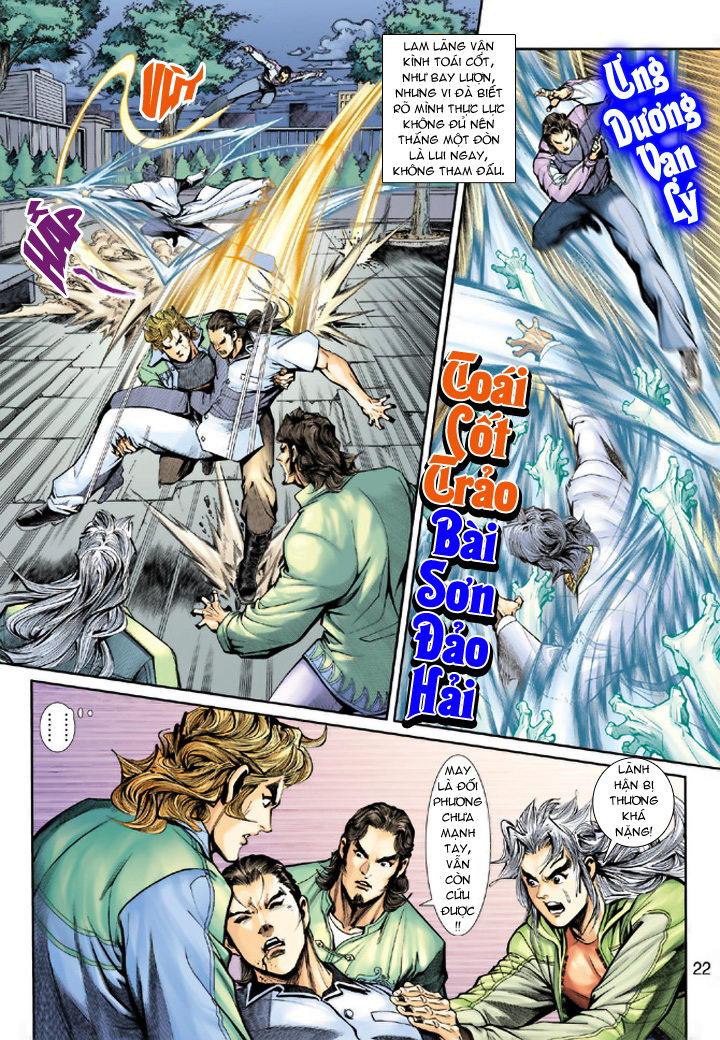 Tân Tác Long Hổ Môn chap 193 - Trang 22