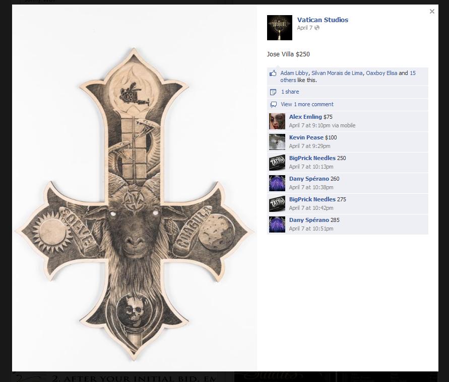 Catholic Cross Symbols Tattoo