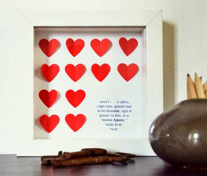Diy san valentino fai da te il regalo coi cuori vita su - Decorazioni san valentino fai da te ...