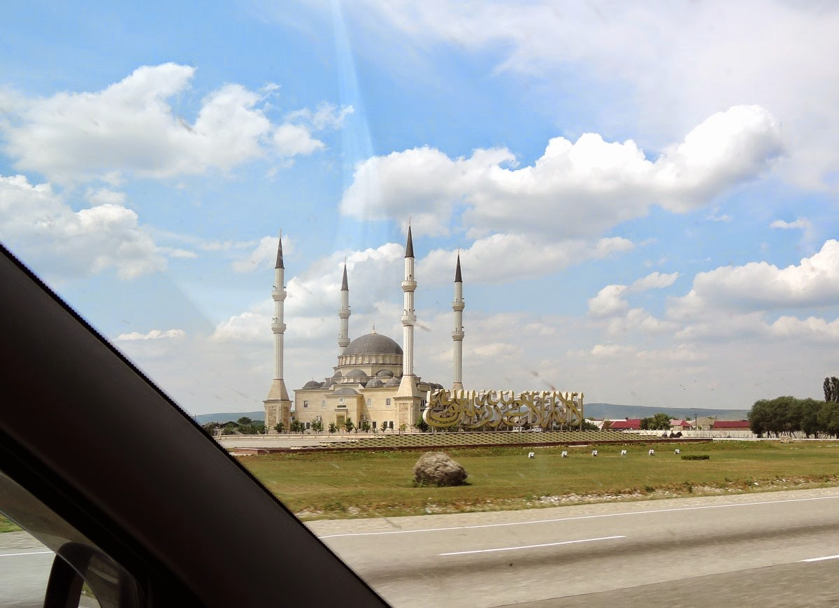 мечеть в Чечне