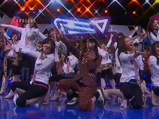 Penampilan JKT48 di Dahsyat RCTI 28 Juli 2012