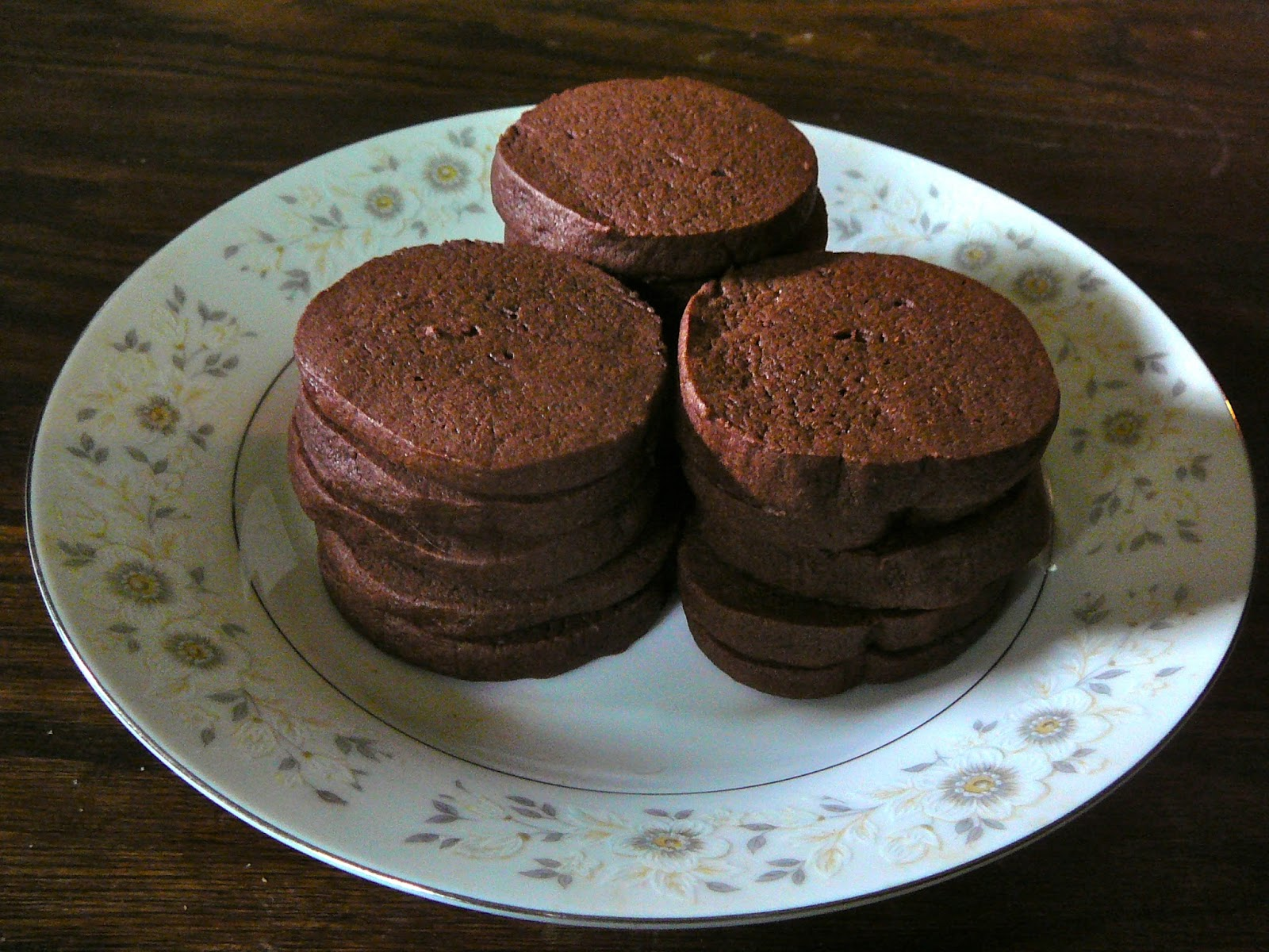 The Hidden Pantry: EASY Slice and Bake Chocolate-Wafer Cookies ...