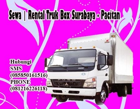 Sewa | Rental Truk Box Surabaya - Pacitan