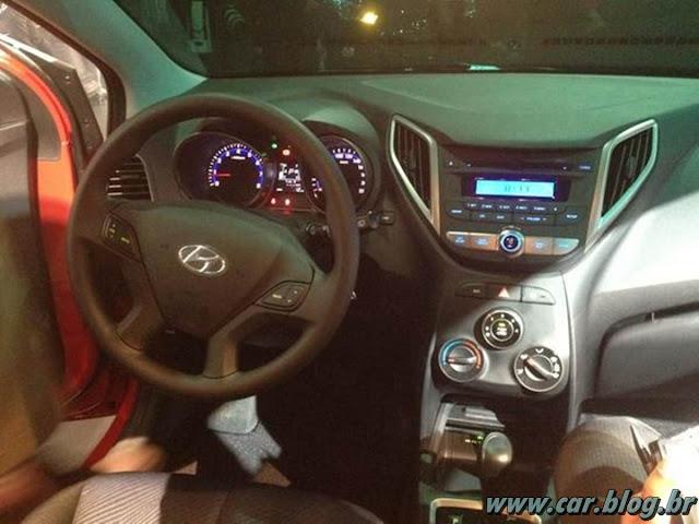 Hyundai HB 20 - interior