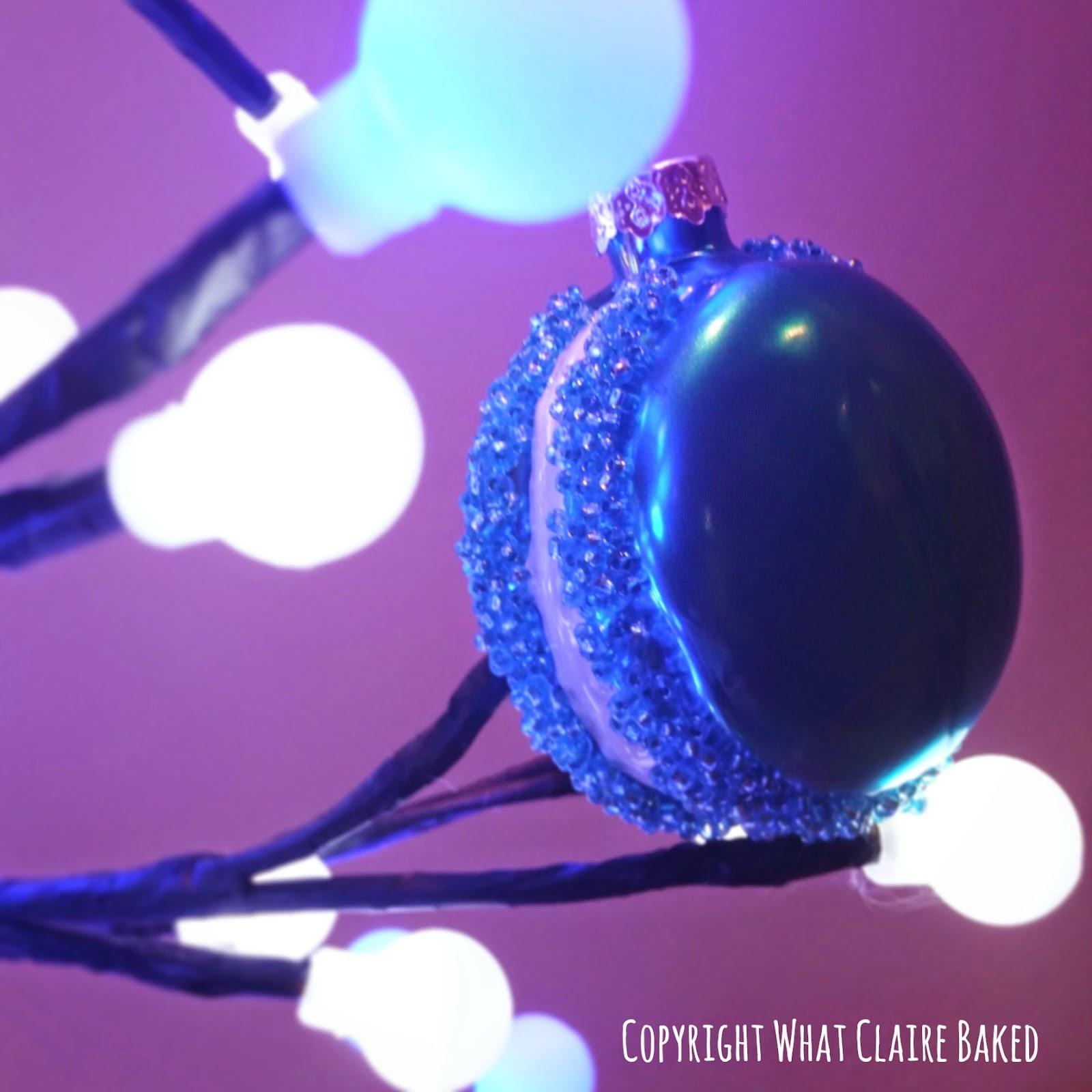 macaron Christmas decoration
