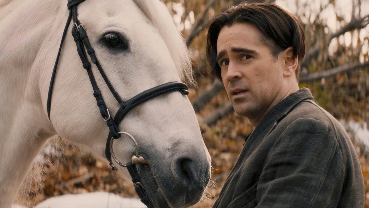 Listo (Caballo) y Collin Farrell (Peter Lake)
