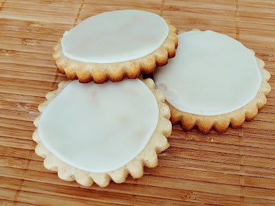 Brown Sugar Spice Cutout Cookies with Maple Icing