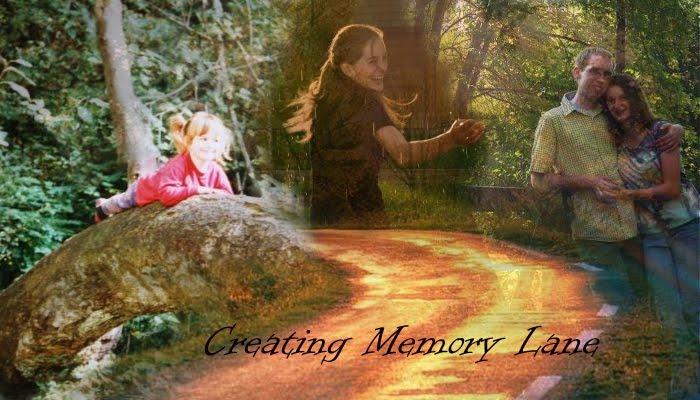 Creating Memory Lane