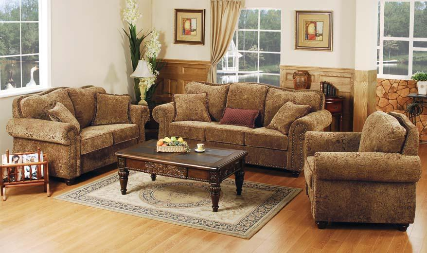 Living room fabric sofa sets designs 2011 home interiors for Sofa set designs for small living room