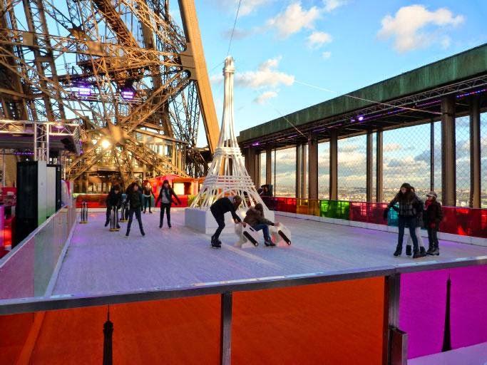 La patinoire de la Tour Eiffel restera ouverte jusqu au mars