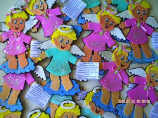 Eu sou Catequista, e estas são as lembrancinhas que confeccionei p/ o 1 encontro de catequese/2012.