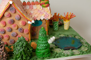Hansel & Gretel Gingerbread House by Lorrie Gauthier