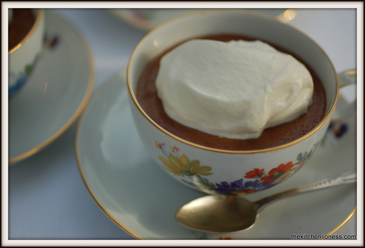 ... Lioness: French Fridays with Dorie - Top-Secret Chocolate Mousse