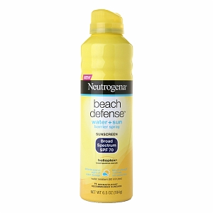 Neutrogena beach defense spray review, neutrogena, sun screen, sunscreen review, spf 70 sunscreen review