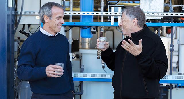 Máquina de Bill Gates que transforma lixo em água começa a funcionar