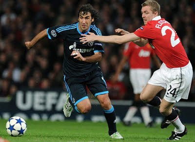 Fletcher Manchester United vs Schalke 04 Champions League