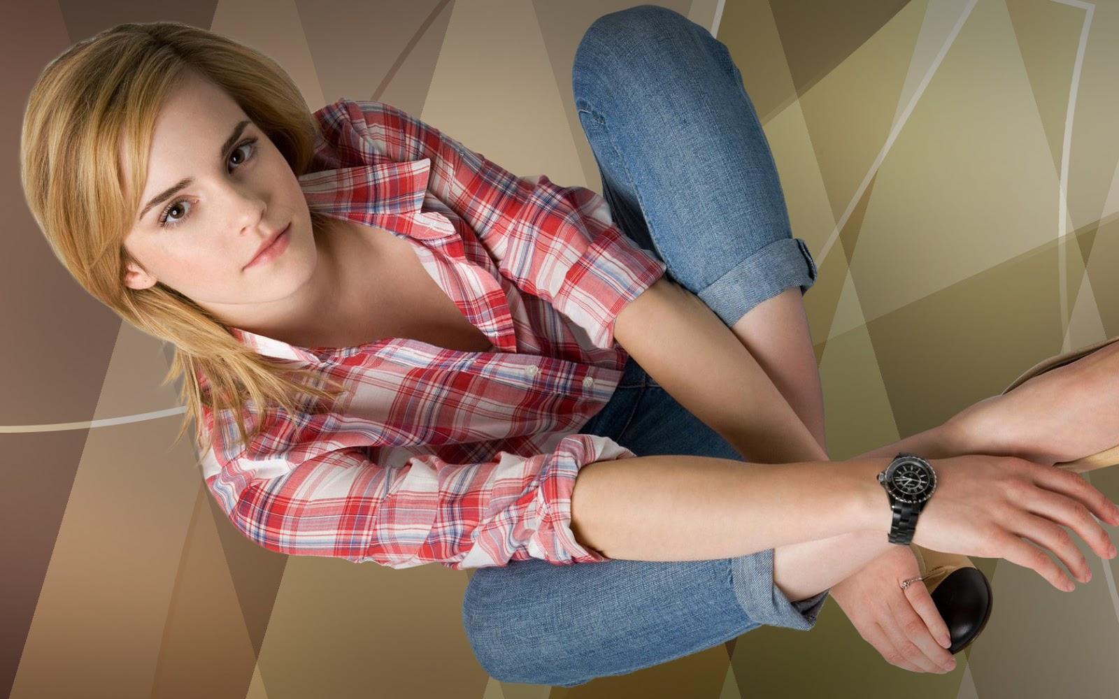 Emma Watson Shirt Images HD
