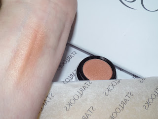 Swatched Rose Gold Blush by Starlooks