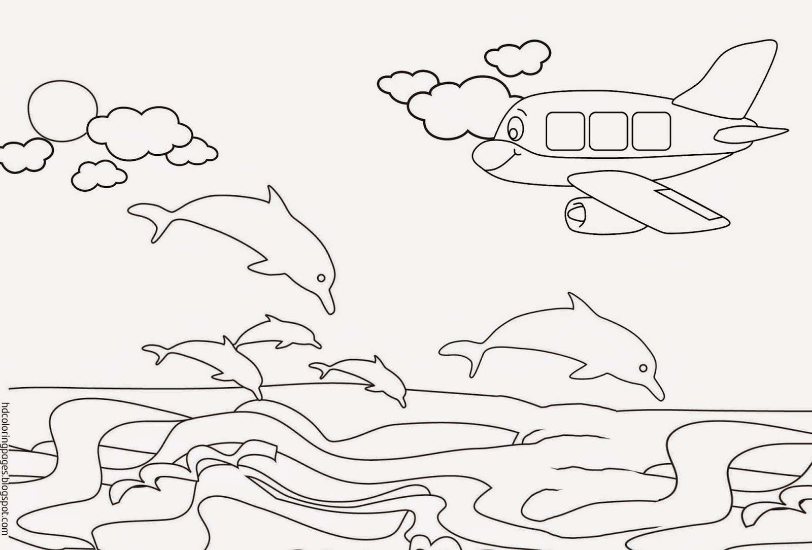 55 Coloring Pages Of The Beach For Adults