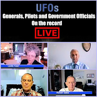 WEBCAST: Top UFO Events Discussed By Military Witnesses, Government Official & Best Selling Author, Leslie Kean | VIDEO